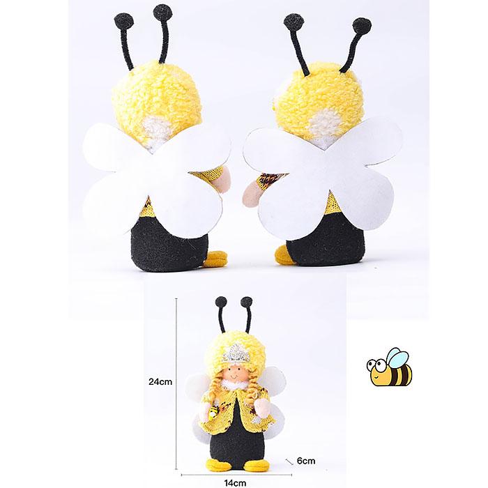 "Мягкая игрушка ""Девочка пчелка"""