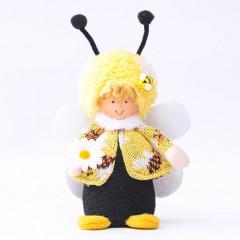 """Мягкая игрушка """"Мальчик пчелка"""""""