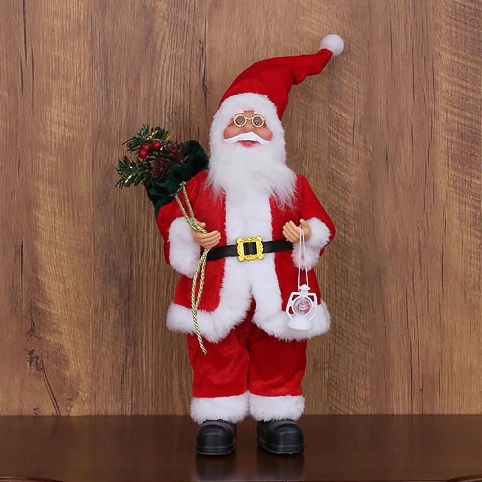 """Игрушка """"Дед Мороз"""" в красном 30 см"""