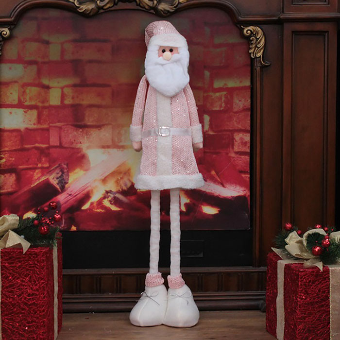 "Игрушка ""Санта"" в розовом"