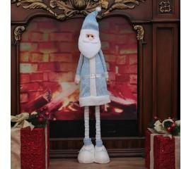 """Игрушка """"Санта"""" в голубом"""