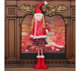 Кукла в красном платье 75 см