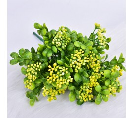 Букет зелени морошка - желтая
