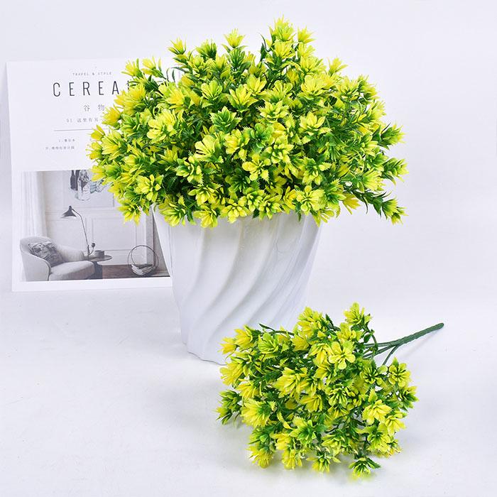 Букет травка садовая - желтая