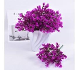 Букет травка садовая - фиолетовая
