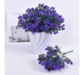 Букет травка садовая - синяя