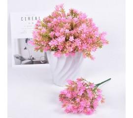Букет травка садовая - розовая