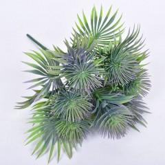 Букет зелени чертополох синий