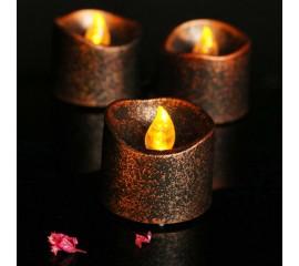 Светодиодная свеча бронза 3,5*3,6 см