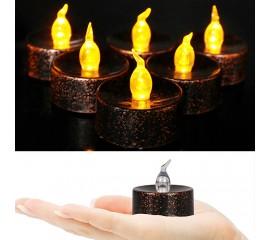 Светодиодная свеча бронза 3 см