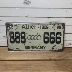 Табличка металлическая 30х15 см