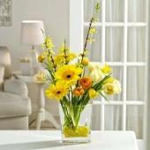 Весенние искусственные цветы