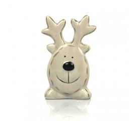Фигурка керамический олень 12см