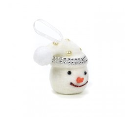"""Подвеска """"снеговик маленький"""""""