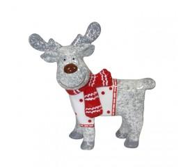 Керамический олень в шарфике