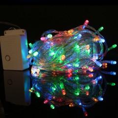 """Светодиодная гирлянда """"Стринг"""" 100 led, 10 м, 8 режимов, цветная"""