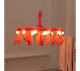 Вешалка с подсветкой красная