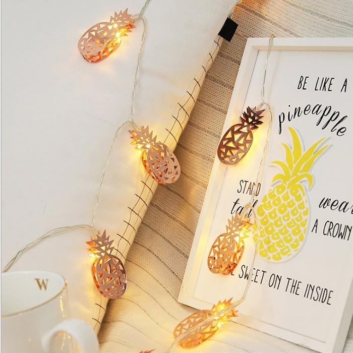 "Led гирлянда ""Ажурные ананасики"" 10 ламп 1,5 м"