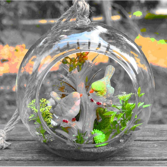 Пластиковый шар с отверстием