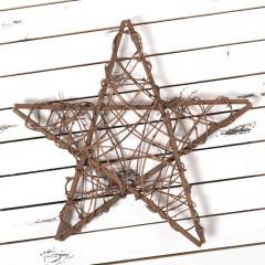 Звезда из лозы 40 см