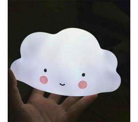 LED светильник облачко белое