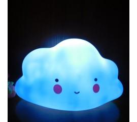 LED светильник облачко синее