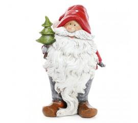 "Фигурка ""Санта с елочкой"" 16,5 см"