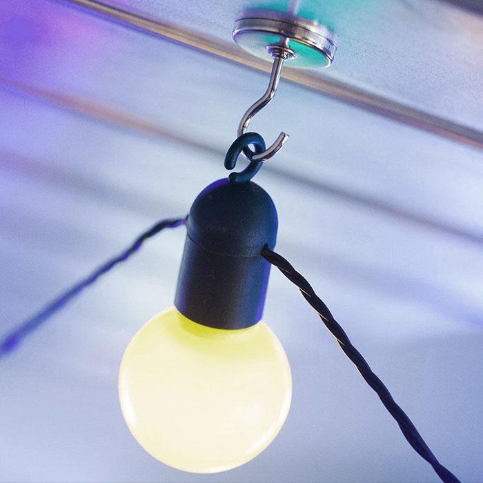 """Безопасная гирлянда """"Матовые лампочки"""" 50 led, 15 м (USB)"""