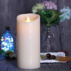 LED свеча с эффектом пламени, 15 см