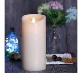 LED свеча с эффектом пламени 15 см