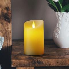 LED свеча с эффектом пламени, 12 см