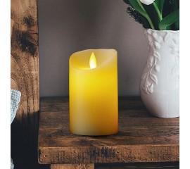LED свеча с эффектом пламени 12 см