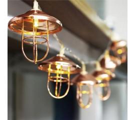 "LED гирлянда ""Ретро-фонарик"" 10 ламп 1,5м"