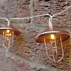 "LED гирлянда ""Ретро-фонарик"" 30 ламп 3 м"