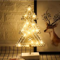LED елка ажурная на подставке 40см