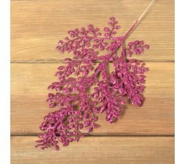 Ветка кипарис блеск розовая