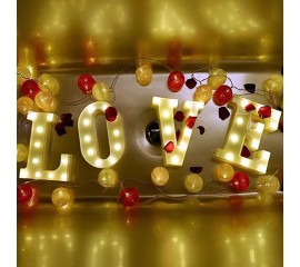 """Светодиодный декор """"LOVE"""""""