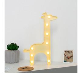"Светодиодный ночник ""Жираф"" - желтый"