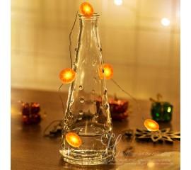 """Светодиодная нить """"Апельсин"""" 20 ламп 2 метра"""