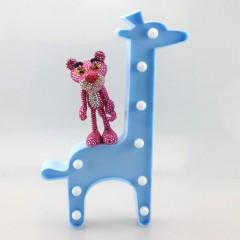 """Светодиодный ночник """"Жираф"""" - голубой"""