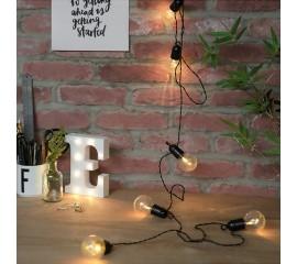 Гирлянда с лампочками 20 л., 6,5 м. прозрачные