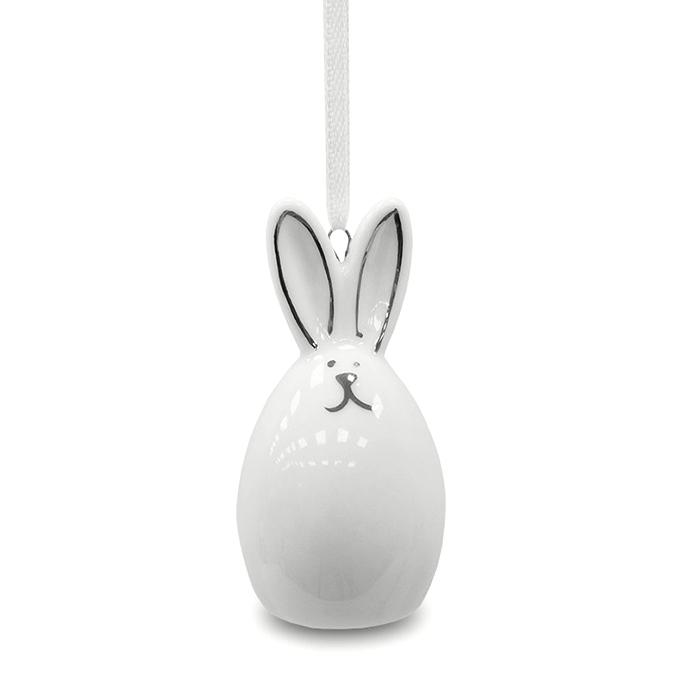 Подвеска керамический кролик