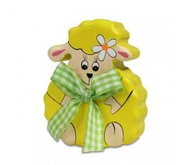 Фигурка овечка деревянная