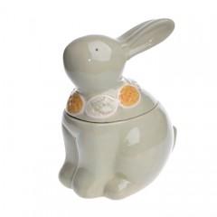 Керамическая емкость - кролик