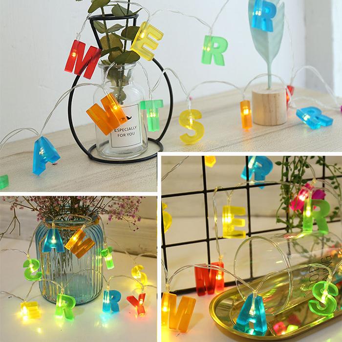 """LED гирлянда """"Merry Christmas"""""""
