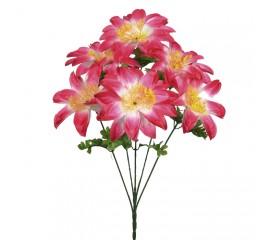 Букет крокус гигант розовый