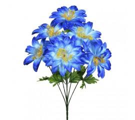 Букет крокус гигант синий