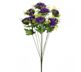 Букет хризантема с розеткой фиолет