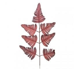 Ветка листики папоротника коричневая
