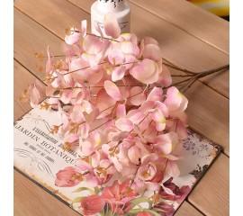 Букет эвкалипт розовый 48 см